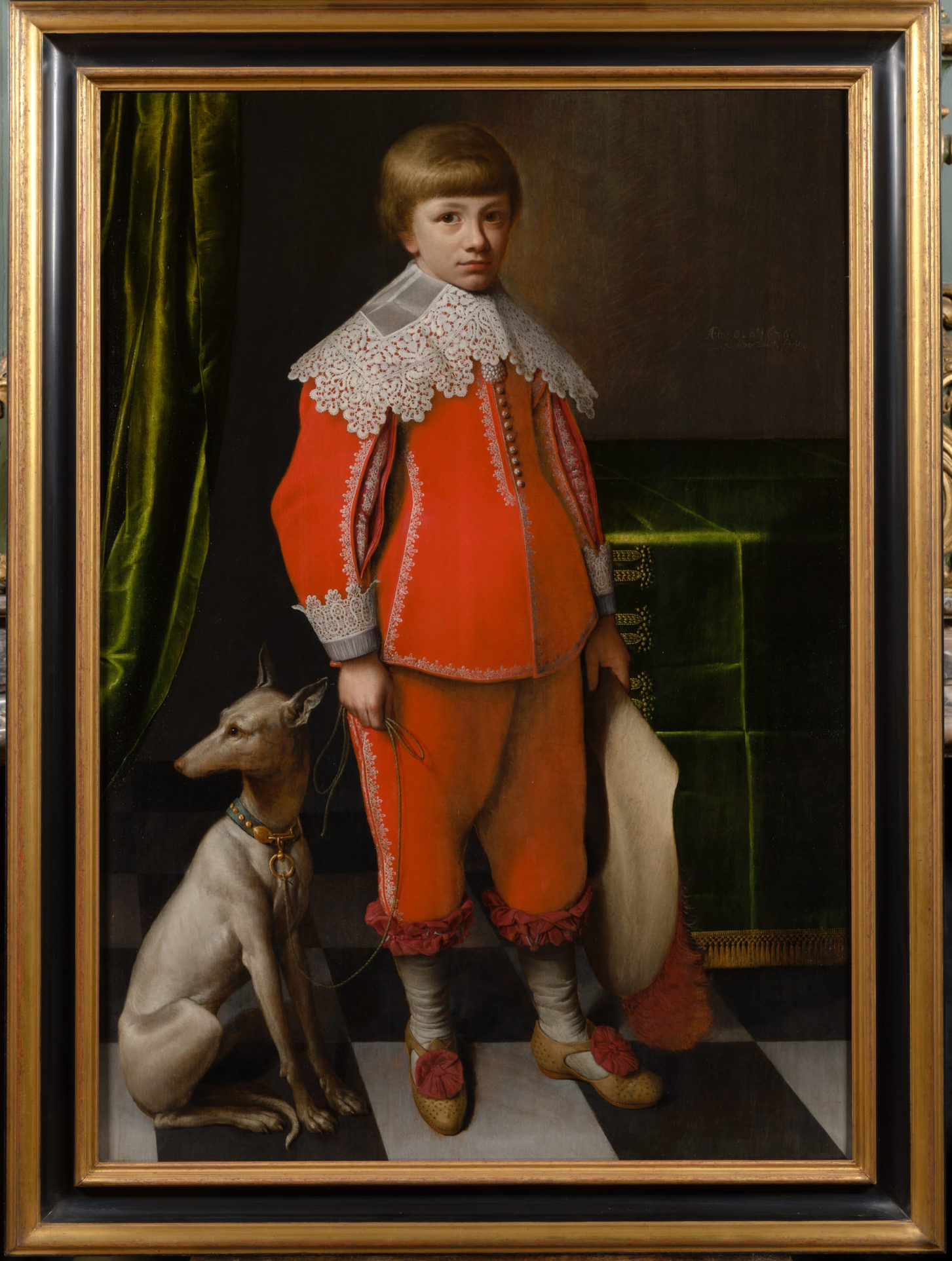 Vliet, Willem van der - Portret van Jonge2n_repro